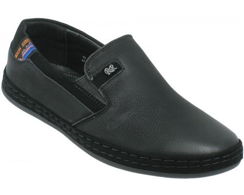 Туфли школьные для мальчиков «Torro» черные