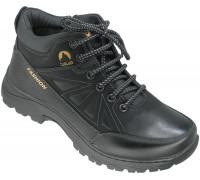 Ботинки демисезонные, подростковые «Tuoluo» черные