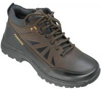 Ботинки демисезонные, подростковые «Tuoluo» коричневые