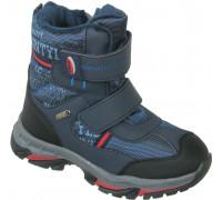 Ботинки мембрана зимние «Загадка» синие
