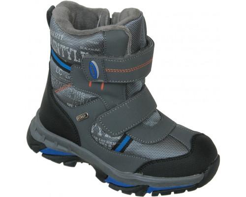 Ботинки мембрана зимние «Загадка» серый