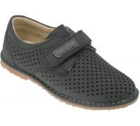 Туфли детские для мальчиков «Загадка» черные