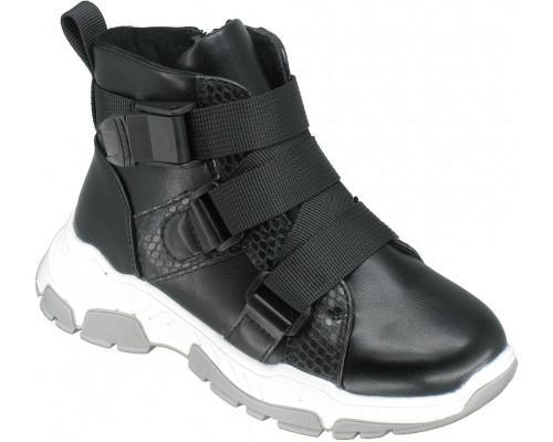 Кроссовки демисезонные, детские для девочек «Ana.R» черные