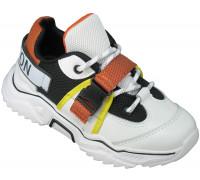 Кроссовки детские облегченные «B&G» белые