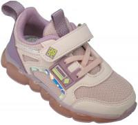 Кроссовки детские, мигающие «B&G» розовые