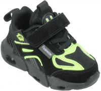 Кроссовки детские облегченные «B&G» черные