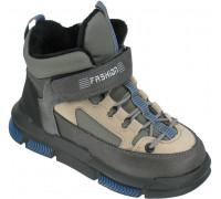 Ботинки демисезонные для мальчиков «B&G» серые
