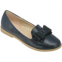 Туфли школьные, для девочек «D+M» синие