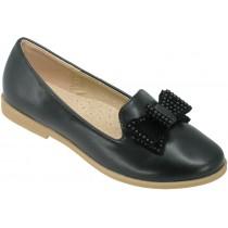 Туфли школьные, для девочек «D+M» черные