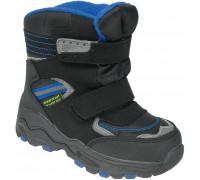 Ботинки зимние детские «EX-tim» чёрные