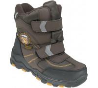 Ботинки зимние детские «EX-tim» коричневые