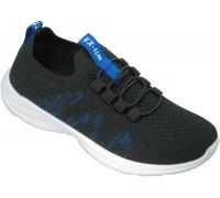 Кроссовки подростковые для мальчиков «EX-tim» черные