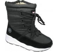 Ботинки зимние, подростковые «EX-tim» черные
