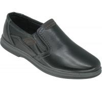 Туфли школьные для мальчиков «HaoshijinBA» черные