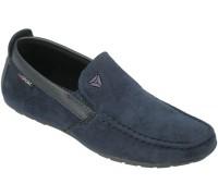 Мокасины подростковые «Lipude» синие