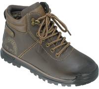 Ботинки зимние, детские для мальчиков «Lipude» коричневые