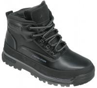 Ботинки зимние, детские для мальчиков «Lipude» черные