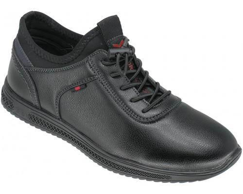 Туфли школьные для мальчиков «Lipude» черные