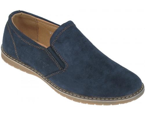 Туфли школьные для мальчиков «Lipude» синие