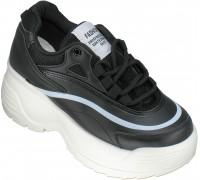 Кроссовки подростковые для девочек «Meitesi» черные