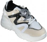 Кроссовки подростковые для девочек «Meitesi» бежевые