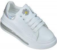 Кроссовки подростковые для девочек «Meitesi» белые