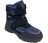 Ботинки зимние подростковые «Paliament» синие