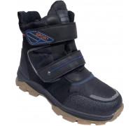Ботинки зимние подростковые «Paliament» чёрные