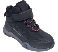 Ботинки зимние детские «Paliament» чёрные