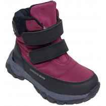 Ботинки зимние детские «Paliament» бордо