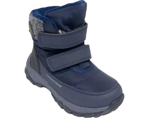 Ботинки зимние детские для мальчиков «Paliament» синие