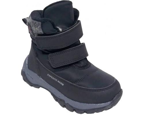 Ботинки зимние детские для мальчиков «Paliament» черные