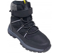 Ботинки зимние детские для мальчиков «Paliament» чёрные