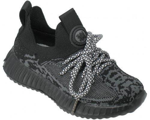 Кроссовки Изи, детские «Paliament» черные