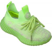 Кроссовки Изи, детские «Paliament» зеленые
