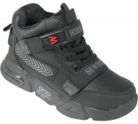 Ботинки демисезонные для мальчиков «Paliament» черные