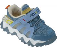 Кроссовки детские, облегченные «Paliament» голубые