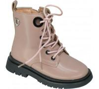 Ботинки демисезонные для девочек «Paliament» бежево-розовый