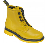 Ботинки демисезонные для девочек «Paliament» желтые