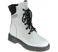 Ботинки демисезонные для девочек «Paliament» белые