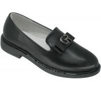 Туфли школьные для девочек, «Paliament» черные