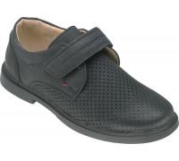 Туфли школьные для мальчиков, «Paliament» черные