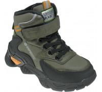 Ботинки демисезонные для мальчиков «Paliament» зелёные