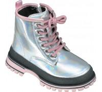 Ботинки демисезонные детские «Paliament» серебро
