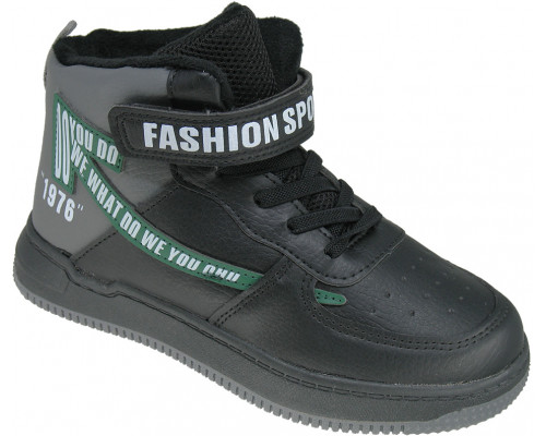 Ботинки демисезонные детские «Paliament» чёрные