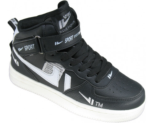 Кроссовки подростковые «EX-tim» черные