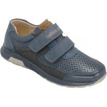 Туфли детские для мальчиков «Песня» синие