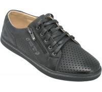 Туфли подростковые для мальчиков «Песня» черные