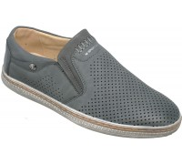 Туфли подростковые для мальчиков «Песня» серые