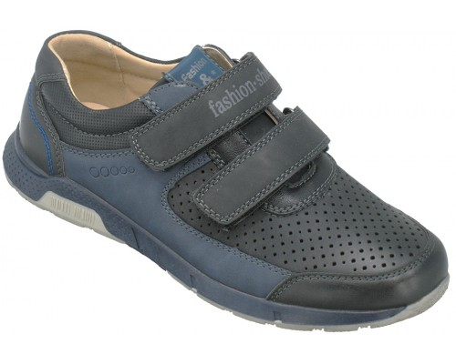 Туфли детские для мальчиков «Песня» черные